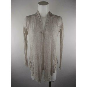 Ambiance Apparel Rayon Cardigan Open Blouse Top